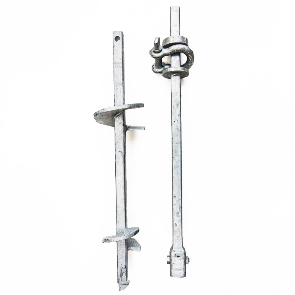 Square Shaft Anchors | Helix Boat and Ground Anchors